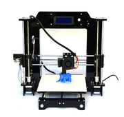China Multifunction Pro DIY 3D Printers PLA / ABS Plastic 3D Printer With Acrylic Frame retail