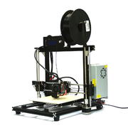 China HICTOP Upgraded Prusa i3 DIY 3D Printer Desktop 3d Printer with Aluminum Frame 3dp-11-bk retail