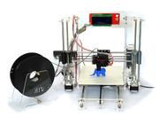 La Cina Multifunction Pro DIY 3D Printers PLA / ABS Plastic 3D Printer With Acrylic Frame retail