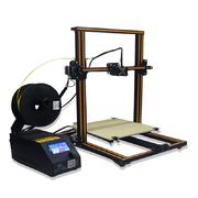 China A instalação fácil imprimindo do tamanho da impressora 300*300*400mm de Impresora 3D da elevada precisão retail