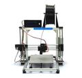 Top QualityFamous Brand HICTOP Silver Aluminum 3d Printer DIY 3D Printer 3dp-11-wt