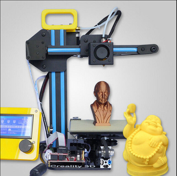 China HICTOP Prusa i3 DIY 3D Printer Protable 3d printer Mini 3d printer Kitwholesale