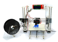 Top QualityMultifunction Pro DIY 3D Printers PLA / ABS Plastic 3D Printer With Acrylic Frame