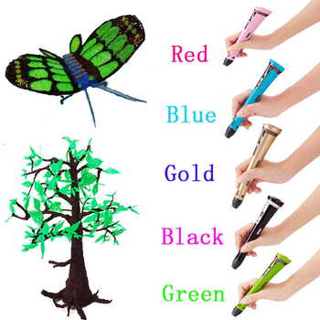 China Small 1.75mm Filament 3D Printer Pen for Kids Creative DC 12V 3Awholesale