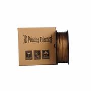 China Clear Orichalceous HIC 1.75mm PLA 3D Printer Filament Makerbot retail