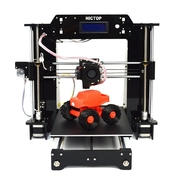 China HICTOP AcrylicHigh Accuracy Reprap Prusa I3 DIY 3D Printers, Upgraded Extruder retail