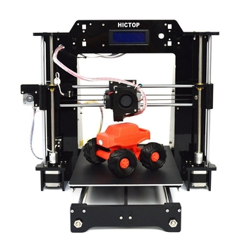 China HICTOP AcrylicHigh Accuracy Reprap Prusa I3 DIY 3D Printers, Upgraded Extruderwholesale
