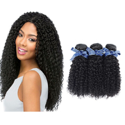 Remy Hair Extensions For Naturally Curly Hair 3 Bundles With Closure Kinky Weaves retail