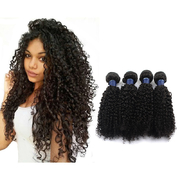 Remy Kinky Curly Hair Extensions Clip In 4 Pcs Of  Kinky Curly Hair Weaves retail