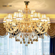 Wholesale Unique large chandeliers with lampshade For sale (WH-CY-19)