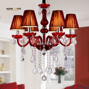 Wholesale Red crystal chandelier online purchase (WH-CY-13)