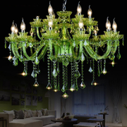 Wholesale Glass Green chandelier Lighting (WH-CY-04)