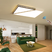 Wholesale Well House Crystal ceiling lights for Living room Bedroom Kitchen plafondlamp Indoor Lamp with Remote Controller