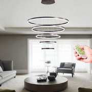 Wholesale Modern LED Ring Pendant Lights For Living Room Dining room Kitchen Lustre Pendant Lamp Hanging Ceiling lamp